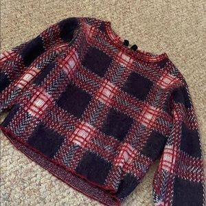 Forever 21 Boxy Plaid Sweater